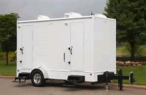 Where to find 12FT 2 STALL RESTROOM TRAILER in Danville