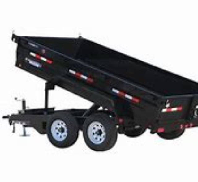 Where to find 10  DUAL AXLE HYD. DUMP TRAILER  7,000 L in Kalispell