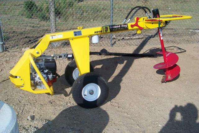 Where to find GROUND HOG HYDRAULIC POST HOLE AUGER W 1 in Kalispell